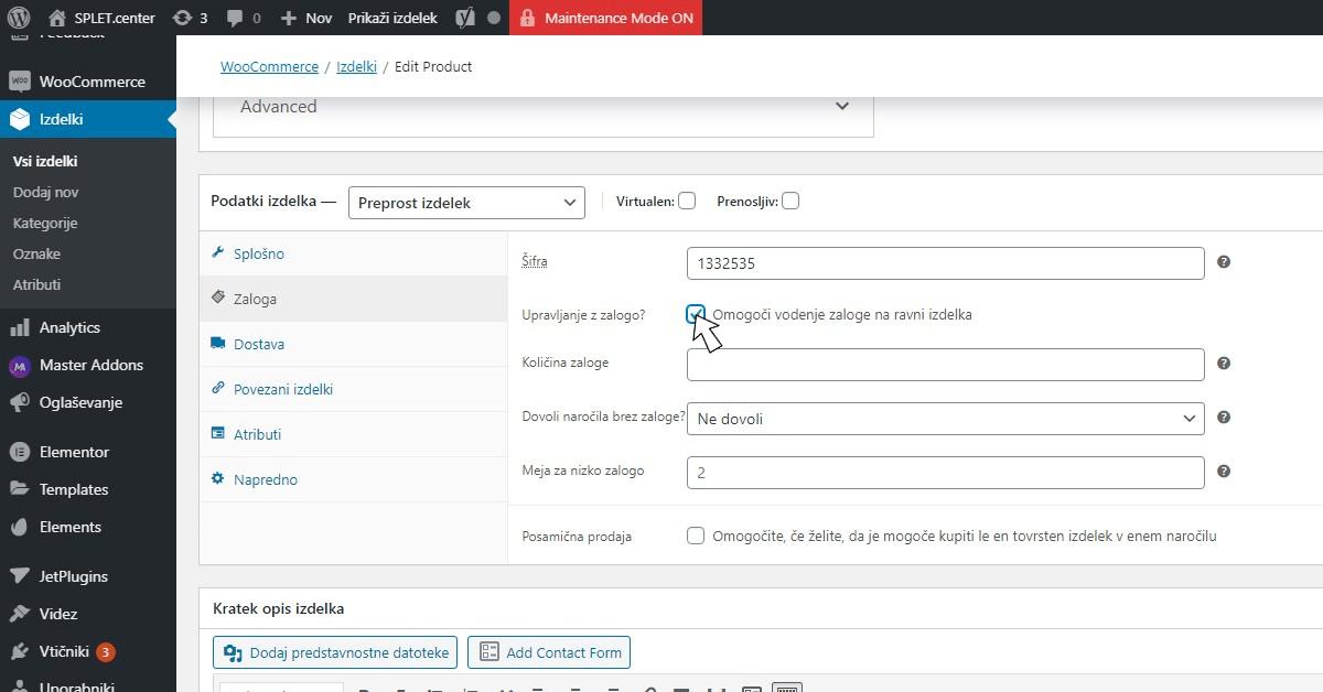 Kako dodati preprost izdelek v WooCommerce spletno trgovino?